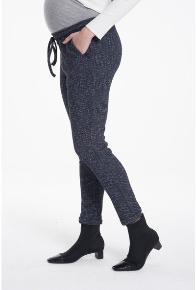 Lyn Devon Kadın Mis Pantolon Lacivert