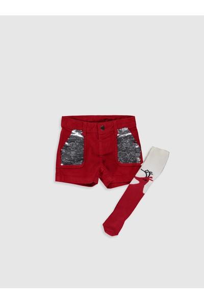 LC Waikiki Kız Çocuk Şort ve Külotlu Çorap