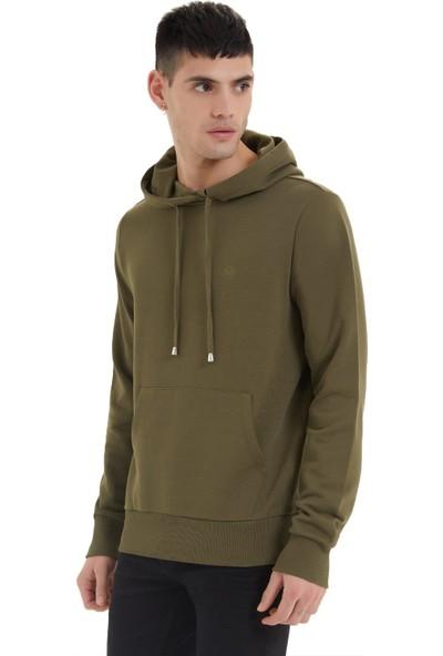 Westmark London Essentials Hoodie Haki Erkek Sweatshirt L