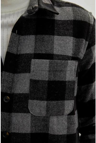 Defacto Erkek Regular Fit Oduncu Gömlek