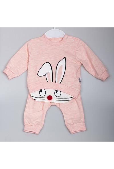 Bimbalo Ponponlu Tavşanlı Bebek Takımı