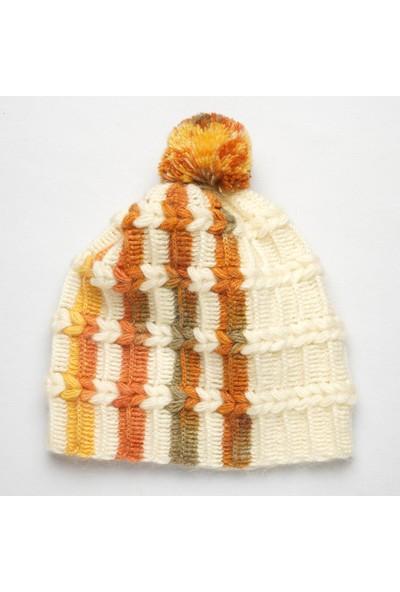 Pinkbear Özel Tasarım %100 Handmade El Örgüsü Yerli Üretim Outdoor Yün Kadın/ Erkek Bere Şapka
