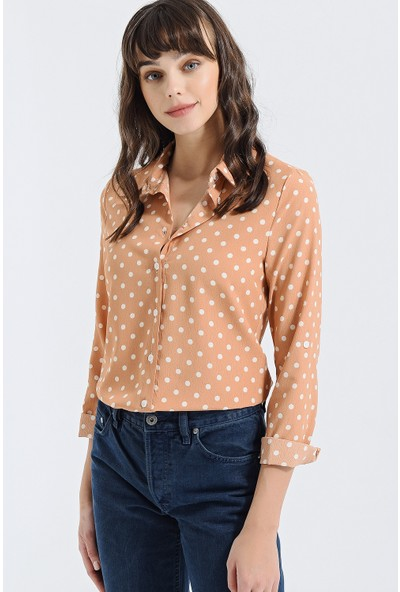 New Laviva Somon Kadın Gömlek