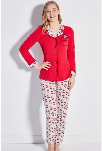 Cossy By Aqua Kadın 20414 Pijama Takım