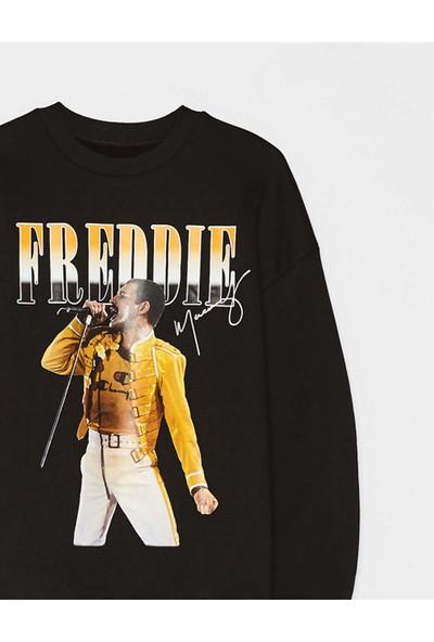 Coten Concept Freddıe Baskılı Sweatshirt