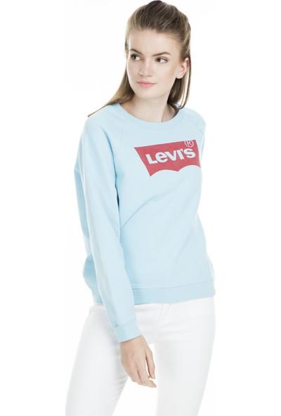 Levi's Bisiklet Yaka Kadın Sweatshirt