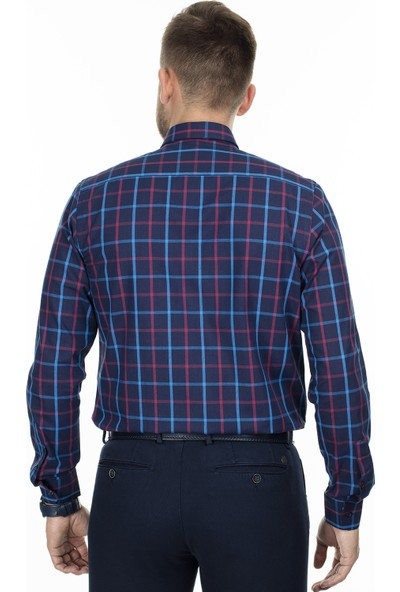 Sabri Özel Uzun Kollu Slim Fit Gömlek Erkek Uzun Kollu Gömlek 5431625