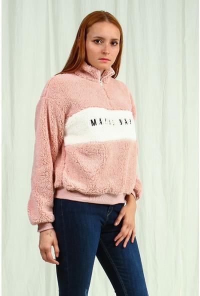 Collezione Kadın Pembe Regular Sweatshirt