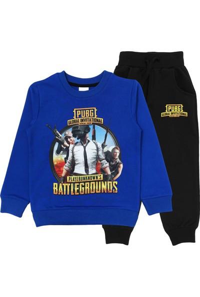 Pubg Battlegrounds Baskılı Erkek Çocuk Eşofman Takımı 5 - 6 Yaş