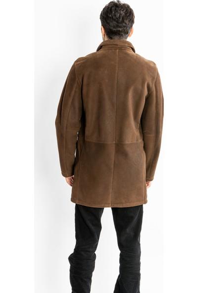 Studıo Morıano Hakiki Kürk Uzun Erkek Mont 17Ce106