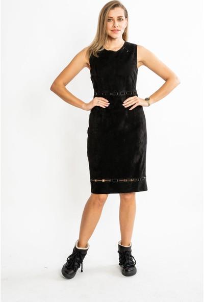Studıo Morıano Hakiki Süet Kadın Elbise 19Be002