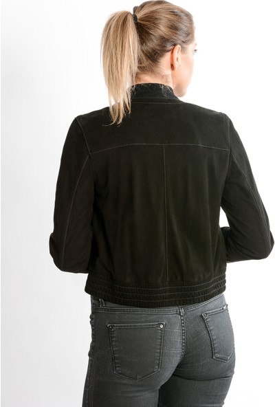 Studıo Morıano Hakiki Süet Ceket Kadın 19Cb009
