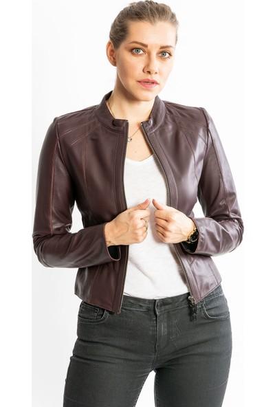 Studıo Morıano Hakiki Deri Kadın Ceket 19Cb016