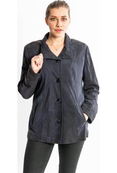 Studıo Morıano Hakiki Süet Uzun Kadın Ceket 19Cb024