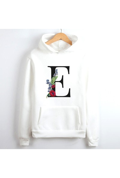 Nil Hediye Beyaz Unisex Sweatshirt S