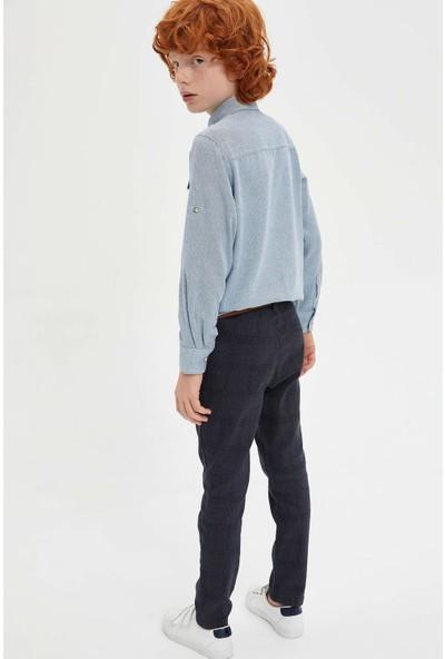 DeFacto Slim Fit Kemerli Pantolon