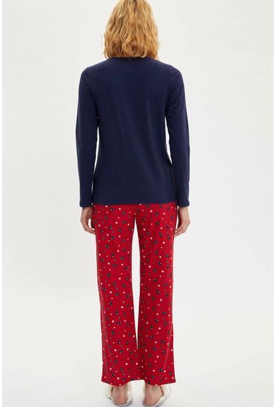 DeFacto Baskılı Pijama Takımı