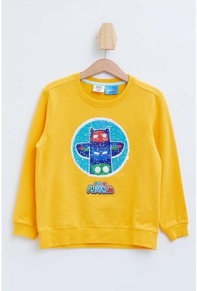 DeFacto PJ Masks Lisanslı Sweatshirt