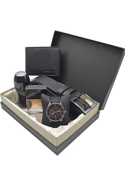Spectrum Erkek Kol Saati Seti - Spectrum Saat - Avon Parfüm - Kemer - Cüzdan