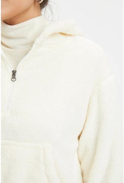 Defacto Kadın Örme Sweatshirt