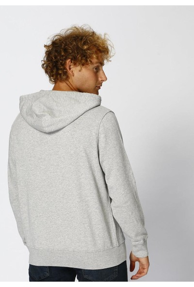 Levis Erkek Classic Batwing Icon Zip SweaT-Shirt 39859-0000
