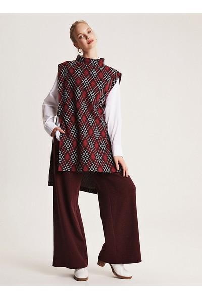 Muni Muni Kadın Tesettür Tunik Pantolon İkili Takım