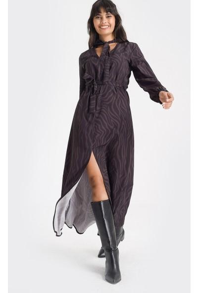 New Laviva Siyah Kadın Elbise