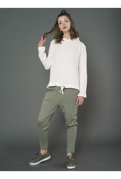 For You Moda Kadın Kapüşonlu Sweatshirt