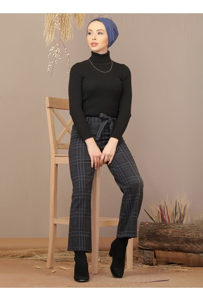 Tofisa Kadın Kuşaklı Pantolon