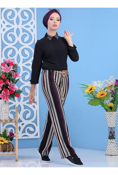 Tofisa Kadın Pantolon& Kemer