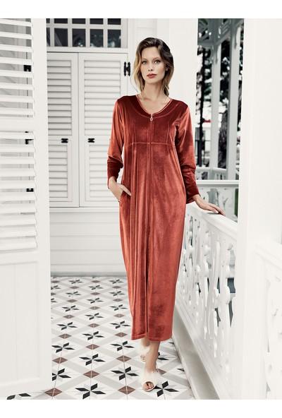 Artış Collection Kadın Kadife Ev Elbise
