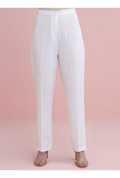 Nihan Peker X Modanisa Kadın Klasik Pantolon