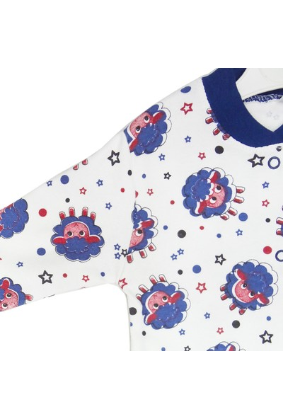 Mıdırık Erkek Bebek Patikli Pijama Tulum