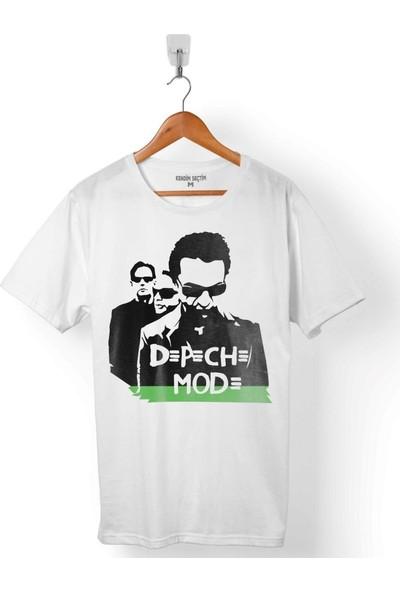 Kendim Seçtim Depeche Mode Green Yeşil D=P=C= Mod= Erkek Tişört