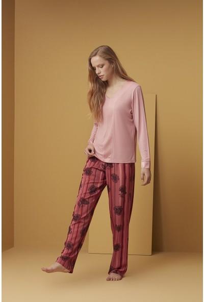 Catherine's 1511 Pijama Takım-Pembe