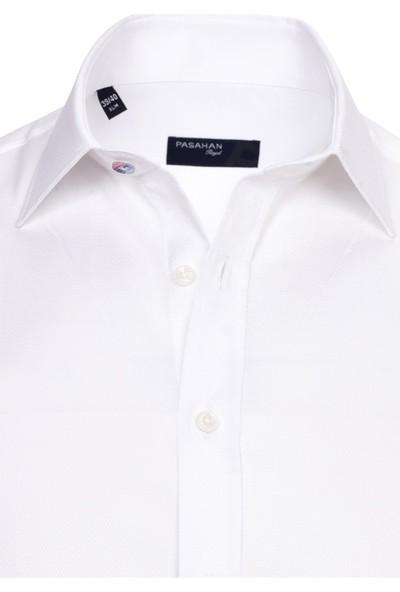 Paşahan Slim Fit Likralı Gömlek
