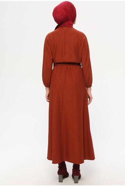 Panaline Yarasa Kollu Elbise