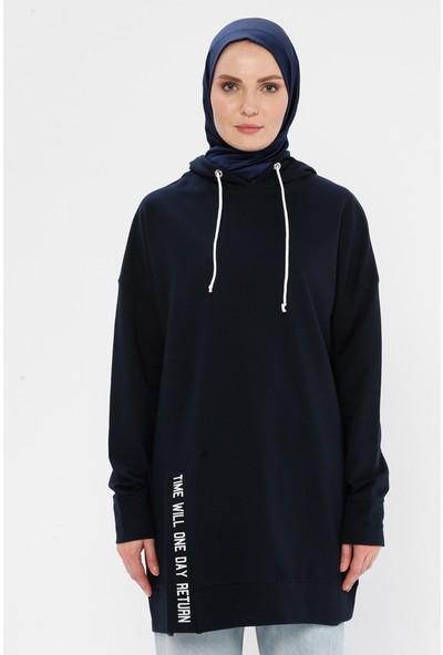 Laruj Baskı Detaylı Sweatshirt