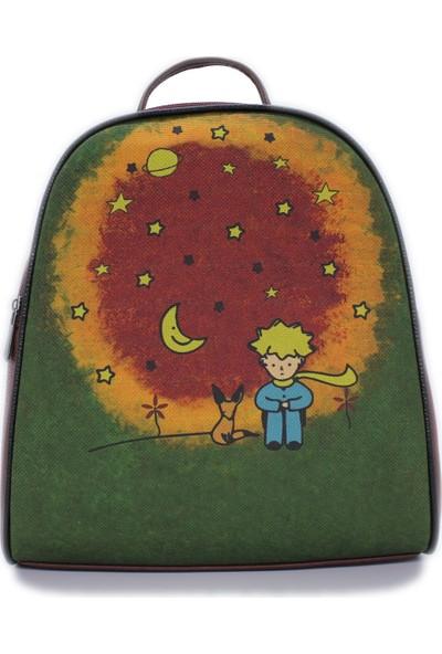 Şaşıkedi Prince Bordo Küçük Sırt Çantası