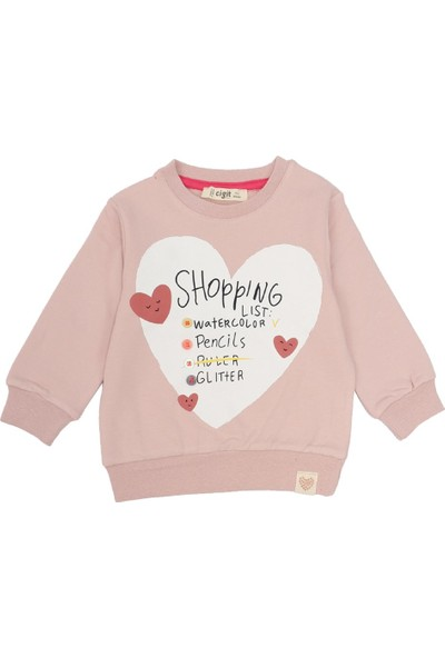 Cigit Shopping List Sweatshirt