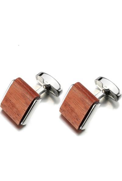 Omark Cotton Light Wood Kol Düğmesi
