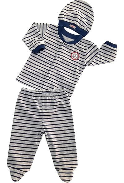 Bebepan Mr.owl Pijama Takım 3 Parça