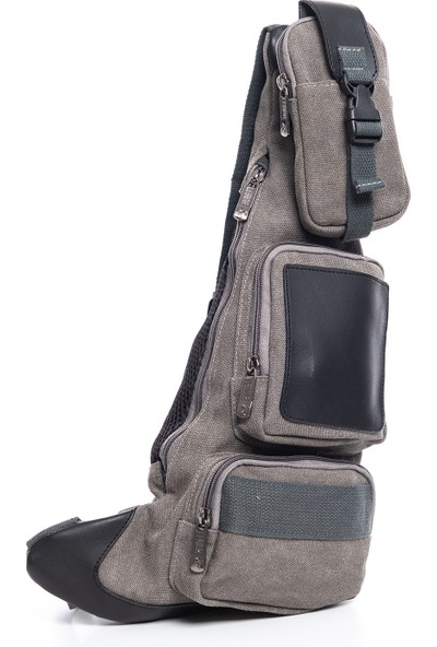 Demy Lebina 1014 Tek Askılı Canvas Bodybag Omuz Çantası