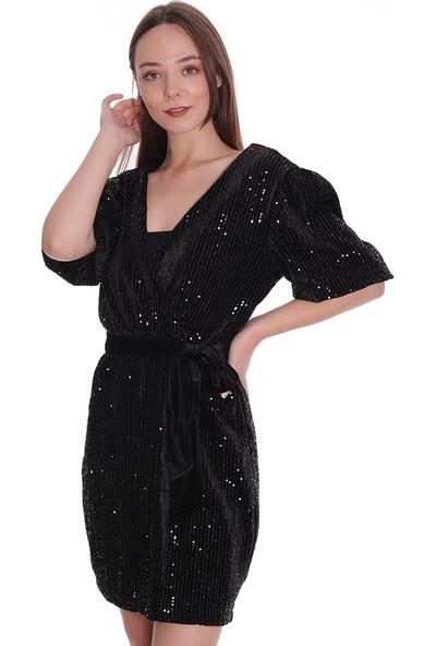 Robin Kadın Elbise M32188 Siyah 29W18032188