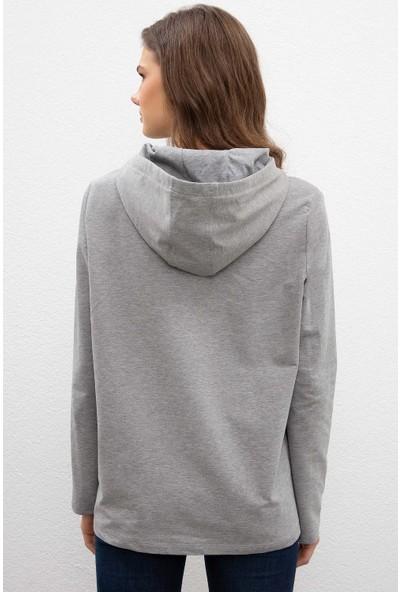 U.S. Polo Assn. Kadın Sweatshirt 50205815-VR086