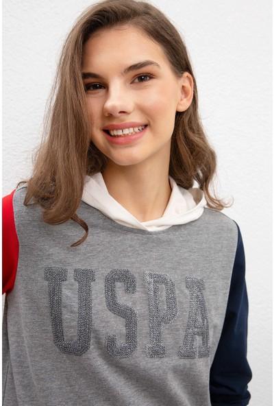 U.S. Polo Assn. Kadın Sweatshirt 50215044-VR086