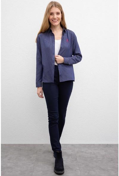 U.S. Polo Assn. Kadın Dokuma Gömlek 50220339-VR033