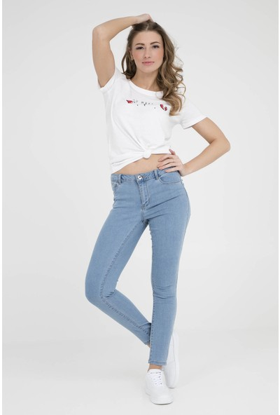 Vero Moda Vmjulia Flex İt Mr Slim Jegging Gu103 Jeans Kadın Kot Pantolon 10211611