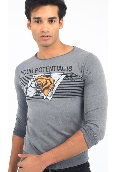 Hilti Potential Extra Slim Fit Erkek Sweatshirt