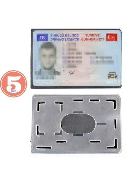Modacar 5 Li Paket Ehliyet ve Kimlk Kart Koruyucu 424473R